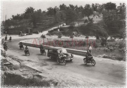 Corsa motociclistica alla Maddalena - anni 50