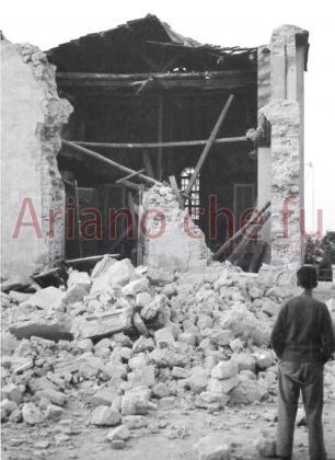 Chiesa del Monte Calvario, il crollo - anno 1962