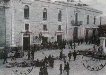 P.zza Plebiscito - inizi del 1900
