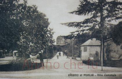Villa comunale - anni 20